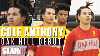 Cole Anthony GOES OFF for 26 in Oak Hill Debut!🔥   SLAM Highlights