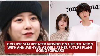 Goo Hye Sun Speaks in First TV Interview Since Her Divorce Scandal With Ahn Jae Hyun