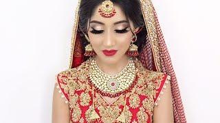Traditional Asian Bridal Hair and Makeup