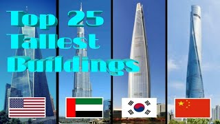 Top 25 Tallest Buildings in the World 2019