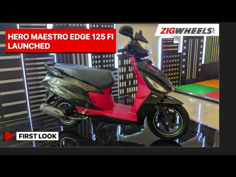 Hero Maestro Edge 125 FI Launched | First Look