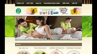 Hướng dẫn tạo website spa, làm đẹp giống carewithlove miễn phí - mẫu spa 1