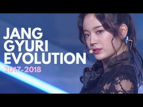 Fromis_9 Jang Gyuri Evolution (Idol School - Fromis_9 - Produce 48) 프로미스나인 장규리 파트모음