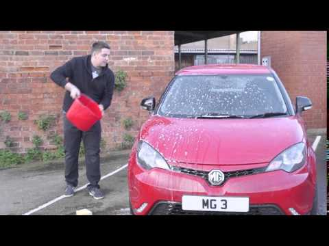 Automatic wipers on the MG3