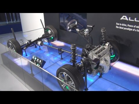 Suzuki All Grip Chassis (2016) Exterior and Interior in 3D