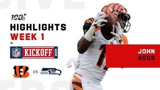 John Ross' Big Day w/ 158 Yds & 2 TDs | 2019 NFL Highlights