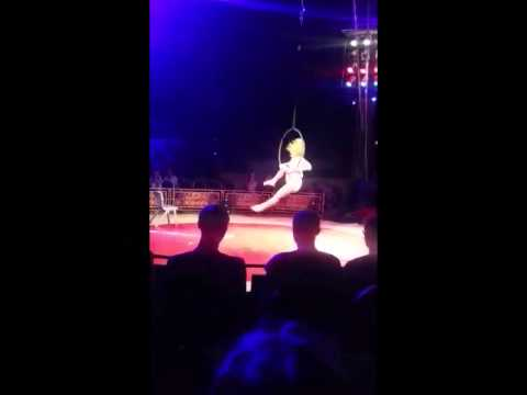 Becky Campey - Professional Aerial Hoop Winner at UK Aerial Performance Championships 2015