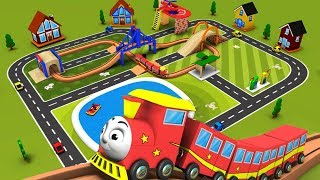 Trains for kids - Chu Chu Train - Toy Factory - Choo Choo Train - Trains - toy factory train - Toy