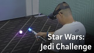 What it's like to play Lenovo Star Wars: Jedi Challenge