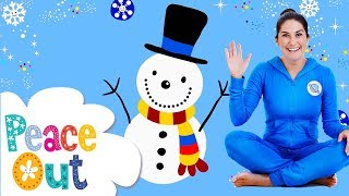 Peace Out Guided Relaxation for Kids (Series 2) | 17. Snowman