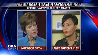 New FOX 5 poll: Virtual dead heat in Atlanta mayor's race