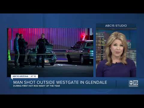 PD: Man in critical condition after being shot outside Westgate in Glendale