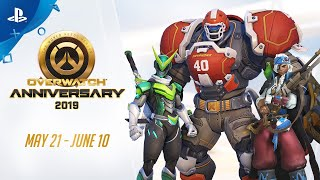 Overwatch | Anniversary 2019 Trailer | PS4