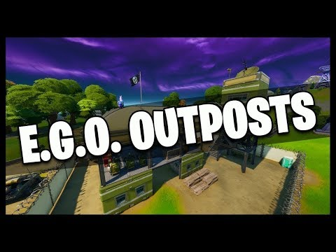 Visit Different E.G.O Outposts | Fortnite The Lowdown | (Fortnite Chapter 2)