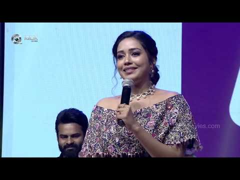 Nivetha Pethuraj Speech | Chitralahari Movie Pre Release Event