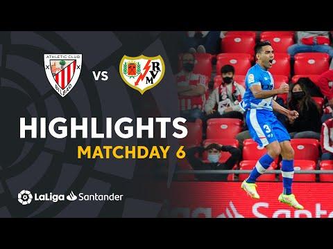 ⚽ HIGHLIGHTS I Athletic Club 1-2 Rayo Vallecano I LaLiga 21-22 Matchday 6