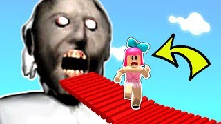 Roblox: *CRAZY* ESCAPE GRANNY OBBY!!!