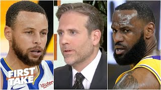 Max explains why LeBron has hurt Steph Curry's legacy | First Take