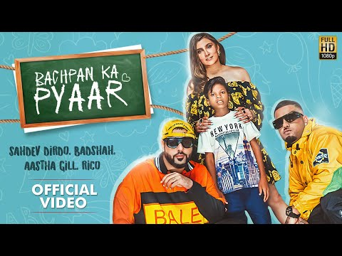 Official video: Bachpan Ka Pyaar ft. Badshah, 10-yr-old Sahdev