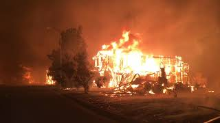 Santa Rosa fires: First hours of the devastating Tubbs fire in 9 minutes
