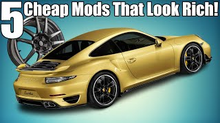 5 Cheap Car Mods That Look Expensive!