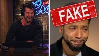 """WHAT A PIECE OF SH*T: Jussie Smollett"" 
