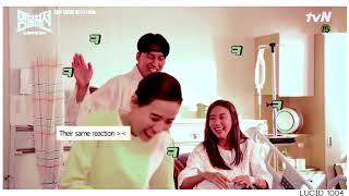 Kim Namgil and Kim Ahjoong cute moments 2017