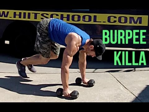 Burpees - Magazine cover