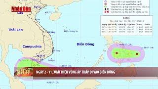 Tin Thời sự Hôm nay (18h30 - 31/10/2017): Tin Áp Thấp Nhiệt Đới Mới Nhất Xuất Hiện Trên Biển Đông