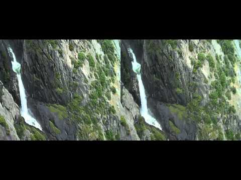 Water Fall in Yosemite National Park In 3D ( yt3d:enable=true )