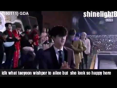 180111 Cheap Baekyeon Moment @ Golden Disk Award