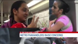 Women panhandling with infants on Metro draw concern, suspicion