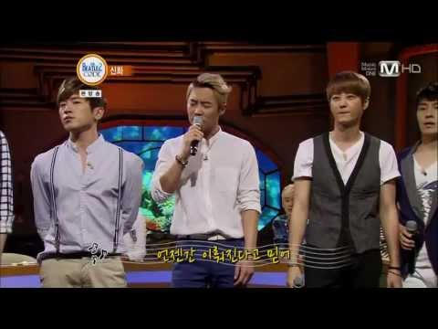 130617 Shinhwa singing Once in a Lifetime on Beatles Code 2