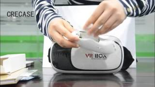 God~~~!!2017 newest VR BOX 2nd generation Virtual Reality Glasses Unboxing Video(Coolest Gifts)