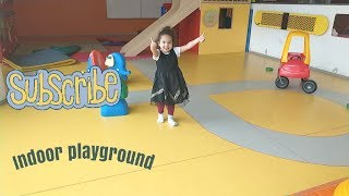 Indoor playground for kids part2 + nursery rhymes [finger family song]