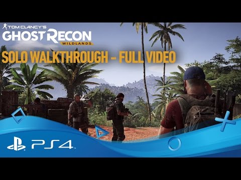 Tom Clancy's Ghost Recon: Wildlands | Tek Oyunculu İlerleyiş | PS4