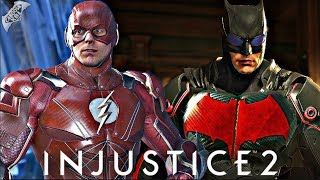 Injustice 2 - EPIC JUSTICE LEAGUE MOVIE GEAR REVEALED!