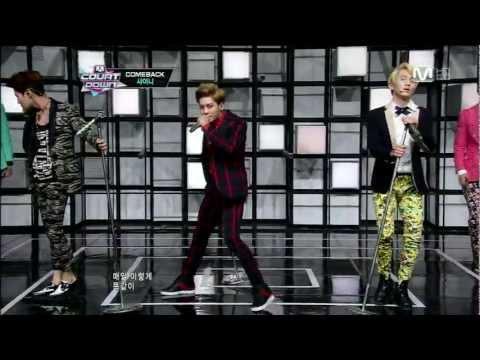 [1080p HD] 130221 M! Countdown SHINee Beautiful+Dream Girl