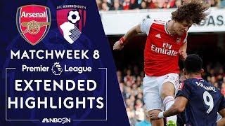 Arsenal v. Bournemouth | PREMIER LEAGUE HIGHLIGHTS | 10/6/19 | NBC Sports