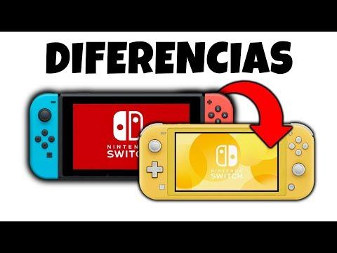la Nueva SWITCH Lite vs Nintendo SWITCH ¿Cual es mejor comprar?