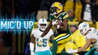 Davante Adams Mic'd Up vs. Dolphins