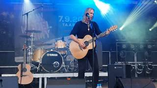 New Model Army - Over The Wire Justin Sullivan Solo Acoustic Live Angeliter Open Air 08.09.2019