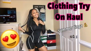 HUGE SUMMER CLOTHING TRY ON HAUL | The Baddie Factory