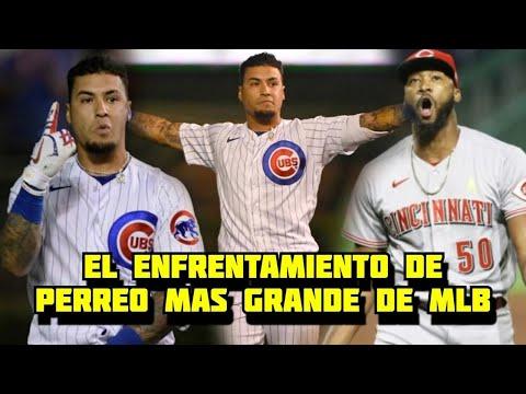 Javier Baez y El Batazo más Gozado de MLB contra Amir Garret para dejar Los Rojos en el terreno