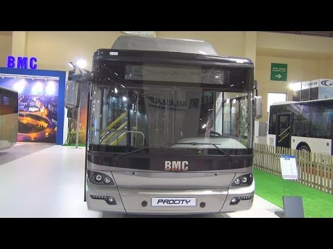 BMC Procity CNG 12 M Bus (2016) Exterior and Interior in 3D