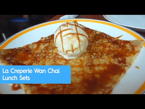 La Creperie Wan Chai Lunch Sets
