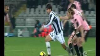 Juventus Palermo 0 - 2 28/2/2010 Sintesi highlights 26° giornata HD HQ