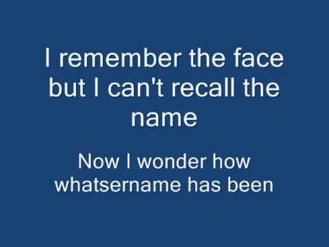 Green Day - Whatsername (Lyrics on Screen)