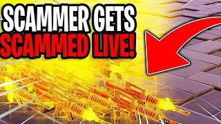 Catching Scammers Live! (Scammer Gets Scammed) Fortnite Save The World