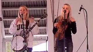 "The Shankman Twins ""Joleen"" 5/24/03 New England Bluegrass Festival Acton, ME"